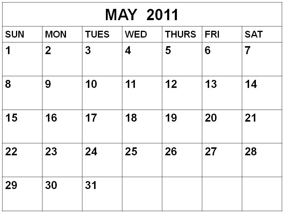 may 2011 calendar with holidays. girlfriend 2011 CALENDAR UK