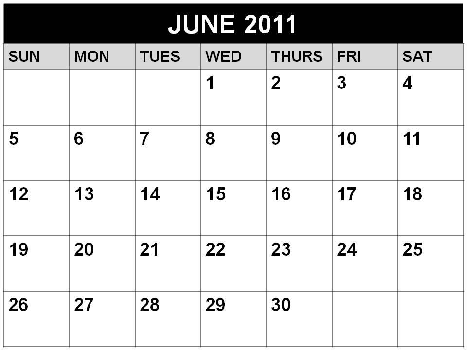 june calendar for 2011. free 2010-2011 school calendar