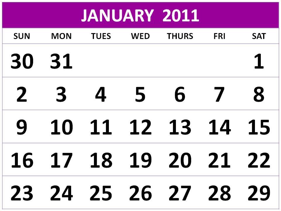 2011 Calendar Printable Free. Other Free Printable Calendar