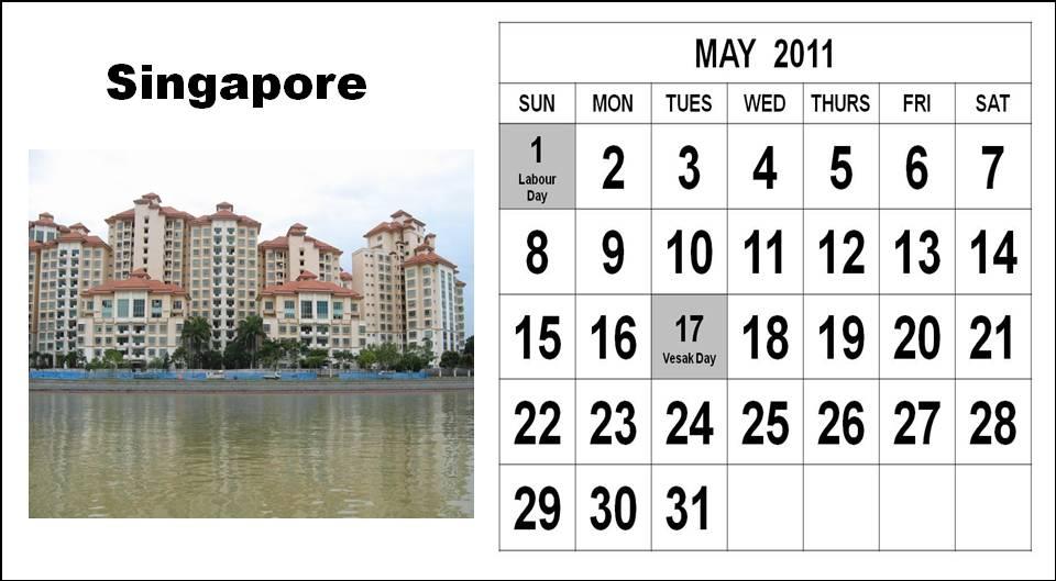 Singapore: 2012 Calendar Singapore: 2011 2012 canadian holidays ...