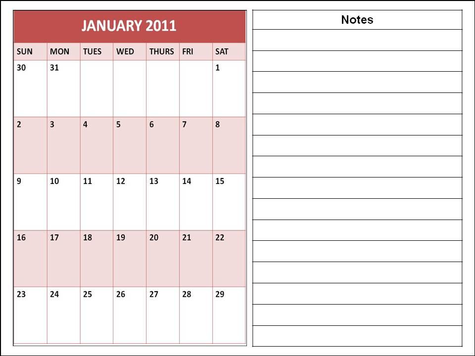January Calendar Planner : Planner calendar the best wallpaper