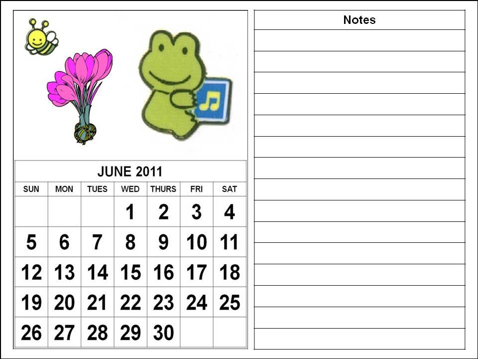 june 2011 calendar print. printable june 2011 calendar.