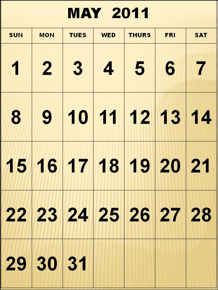 free calendar 2011 template. free yearly calendar 2011