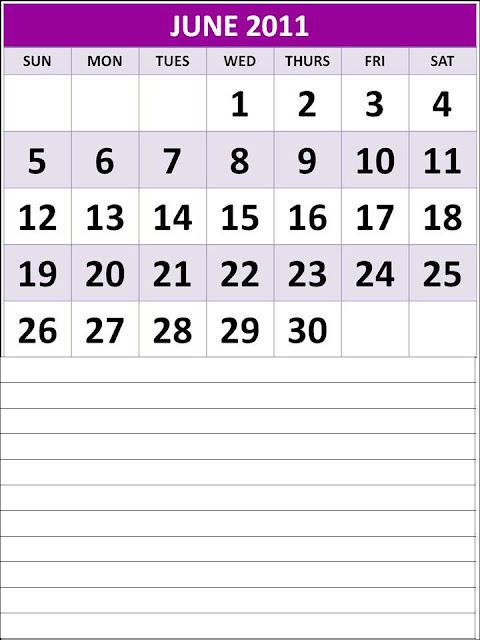 printable june 2011 calendar. CALENDAR 2011 PRINTABLE JUNE