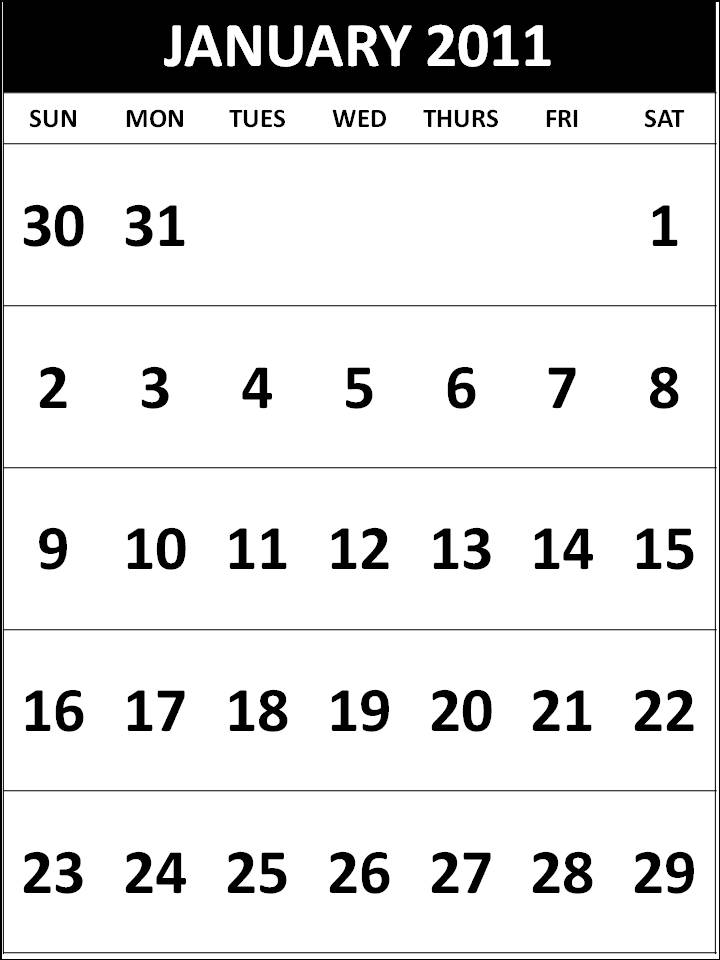 august calendar 2011 printable. Other Free Printable Planners