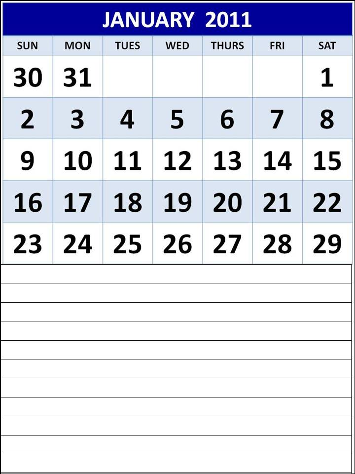 downloadable calendar 2011. Download Printable Calendar