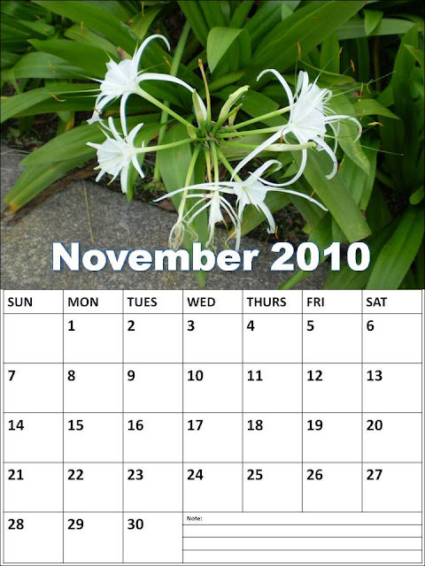 blank calendar 2010. hairstyles Blank Calendar 2010