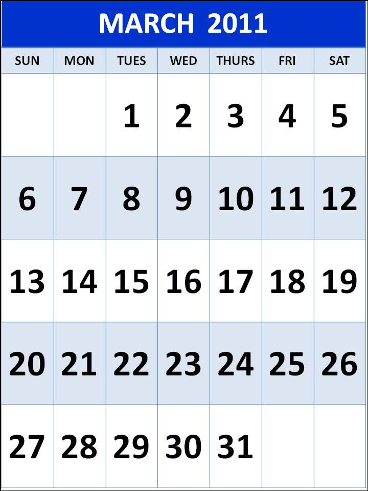 march calendar 2011 holidays. march calendar 2011 holidays.