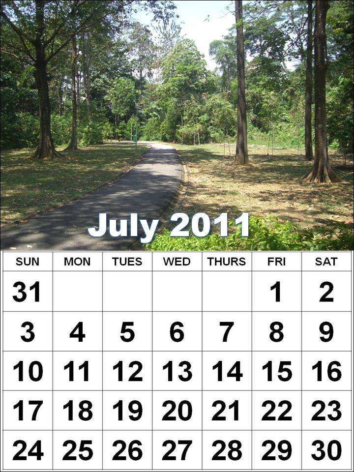 july 2011 calendar with holidays. calendars Of holidays july