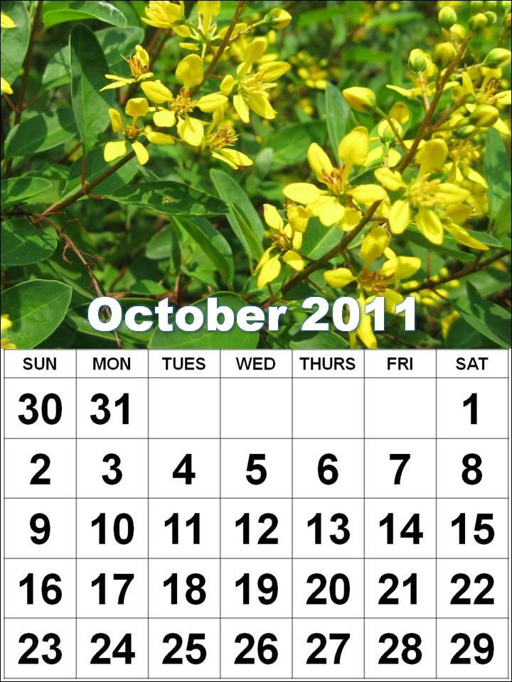 october calendar 2011. +calendar+october+2011