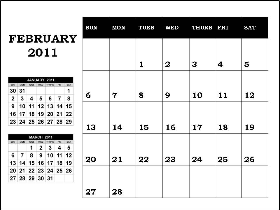 blank calendar 2010 february. lank calendar pages 2010.