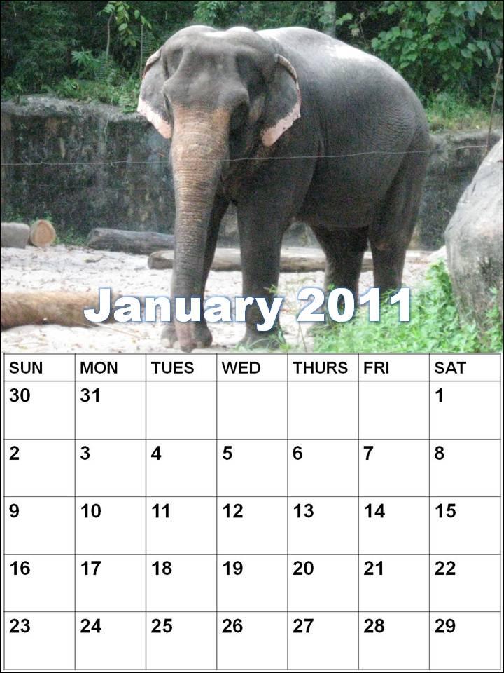 january calendars. january calendars.