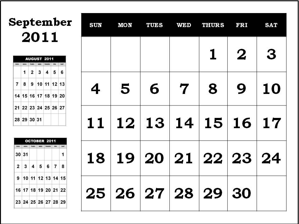 calendar september 2011. Calendar+september+2011