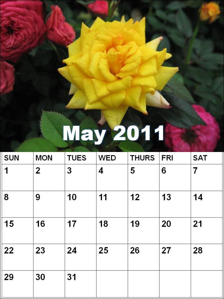 printable may calendar 2011. may calendar 2011 printable.