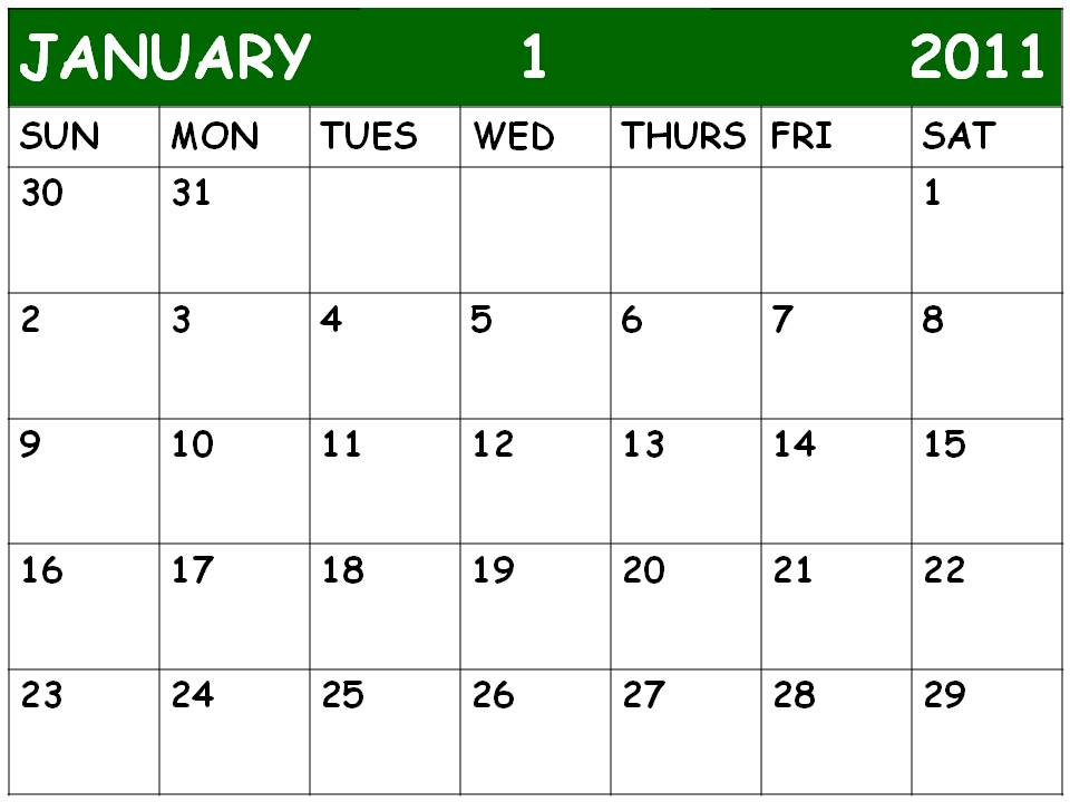 blank january 2010 calendar. lank january 2010