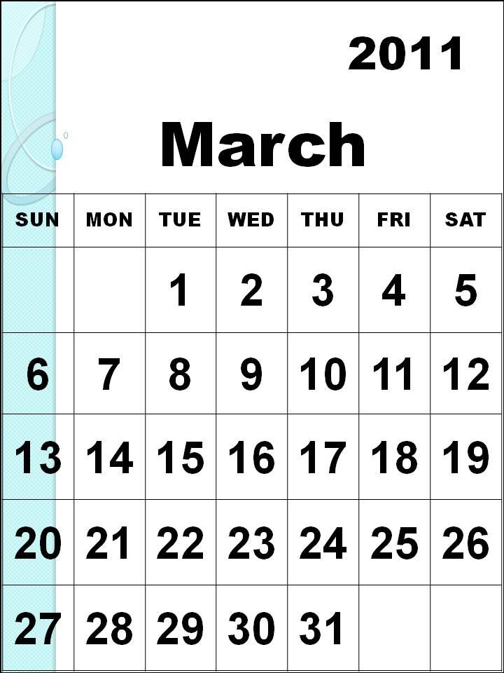 2011 march calendar printable. 2011 march calendar printable.