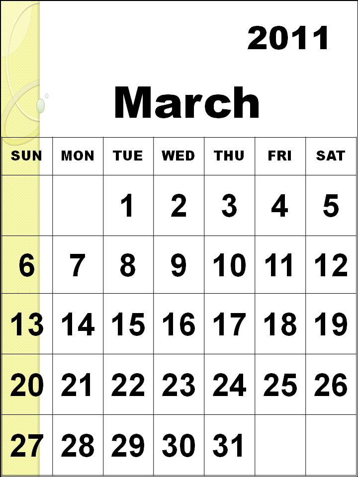 February 2011 Calendar Pdf. files March+2011+calendar