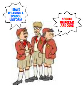 argument for uniform policies in school School uniforms should also be mandatory in schools because it helps the school look more organized, it lowers the risk of kids getting bullied for their clothes and it can help the school be safer school uniforms should be mandatory in both catholic and public schools .