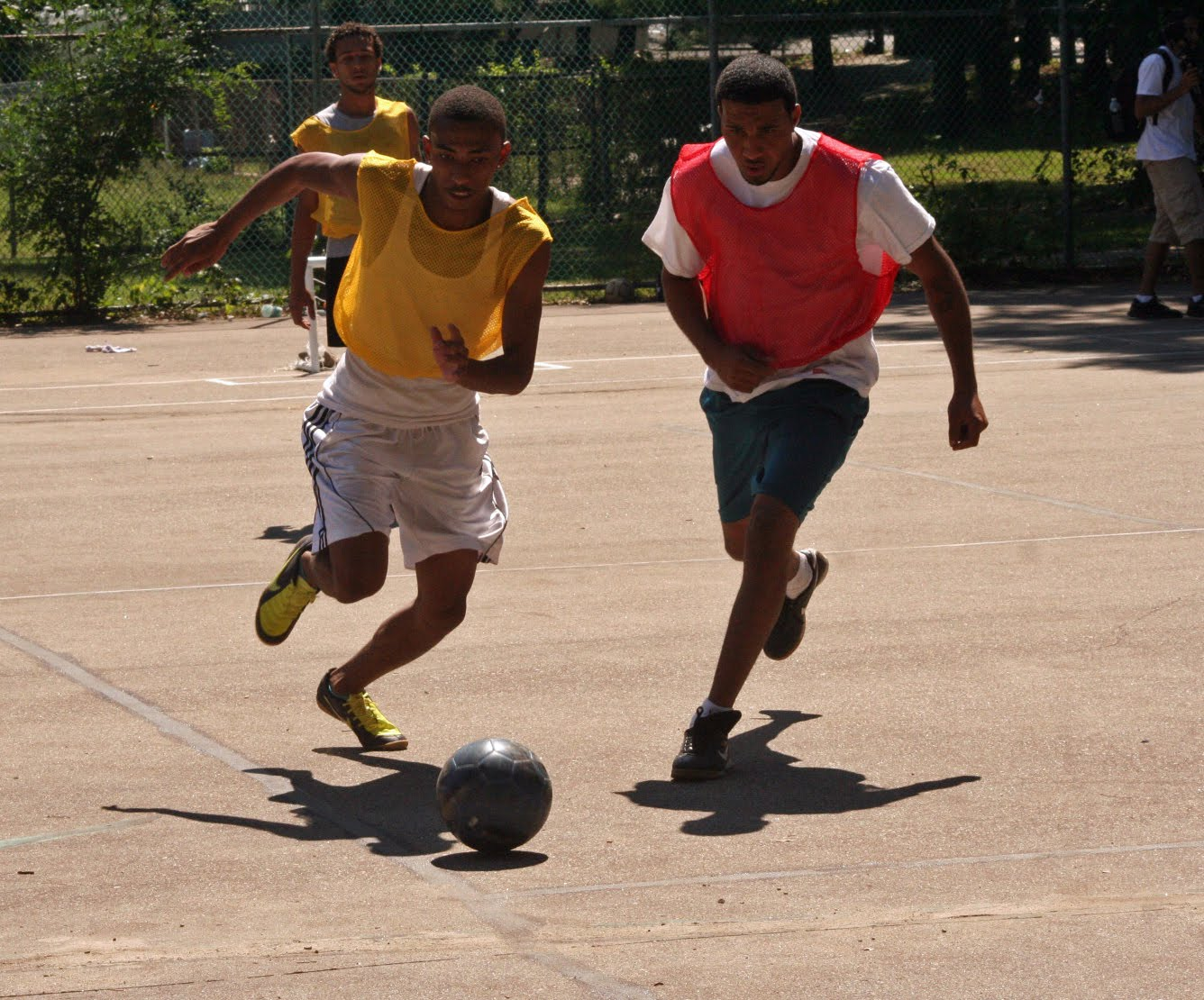 benefit of street soccer for individual