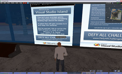 Visual Studio Island - Second Life