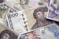 Bara en bild på pengar för att illustrera texten