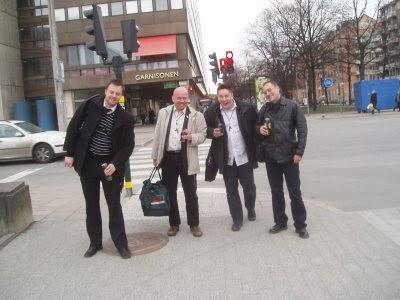 Fredrik, Tobbe, Anders & Jap (Martin fotar)