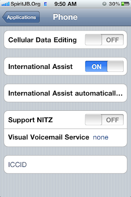 /EDGE/APN Settings In Jailbroken iPhone 4 on iOS 4.1 [How to Guide