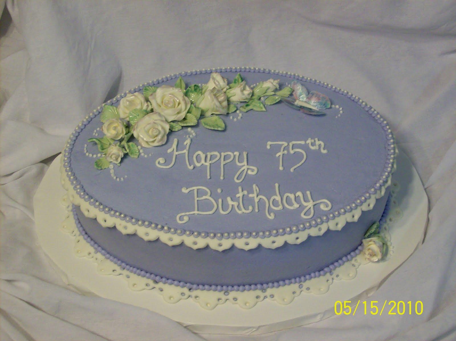 Cakes By Chris 75th Birthday Cake