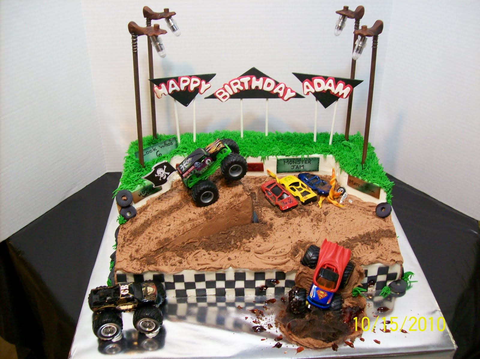 Cakes By Chris Grave Digger Monster Truck