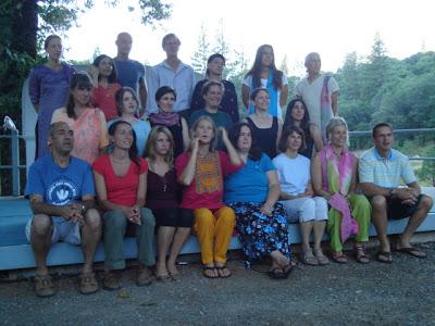 Ananda 2007 yoga, fun, life and learning group