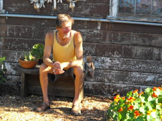 CHRIS ON BENCH