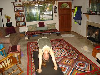 marlie in yoga
