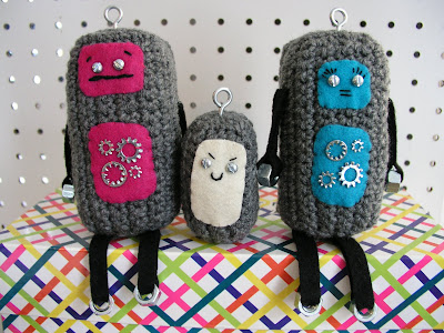 free crochet patterns: design your own crobots