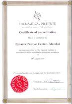 NI Accreditation Certificate