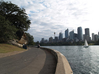Sydney centro dal Royal Botanic Garden