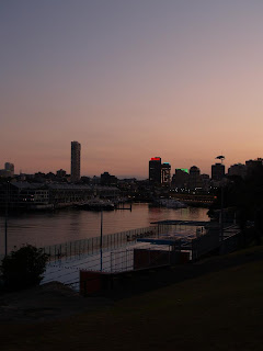 Tramonto a Potts Point