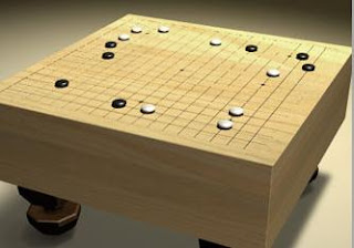 Go Is An Ancient Board Game Which Takes Simple Elements Line And Circle Black White Stone Wood Combines Them With Rules