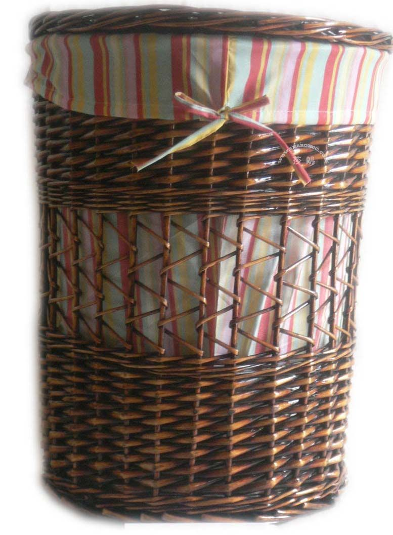 Wicker laundry hamper china manufacturer wicker laundry basket - Rattan laundry hamper ...