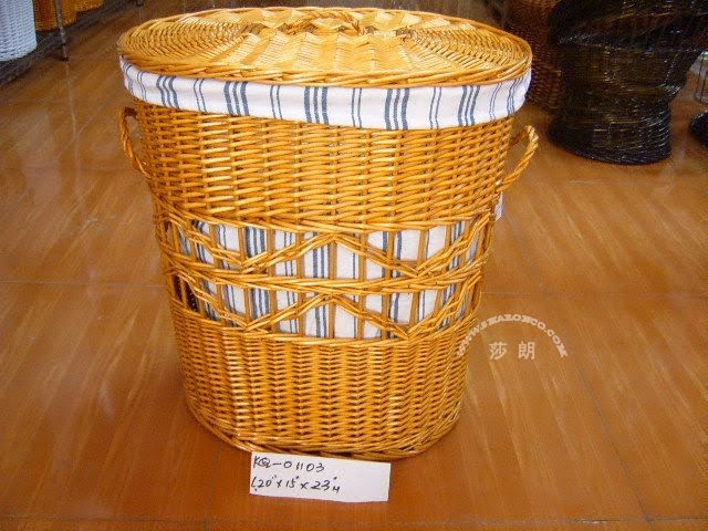 Wicker laundry hamper china manufacturer - Rattan laundry basket with lid ...
