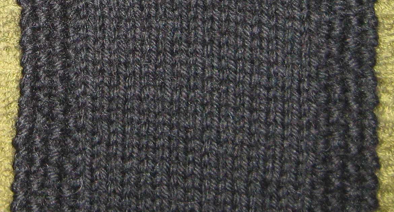 Simple Seed Stitch Border Coaster Pattern