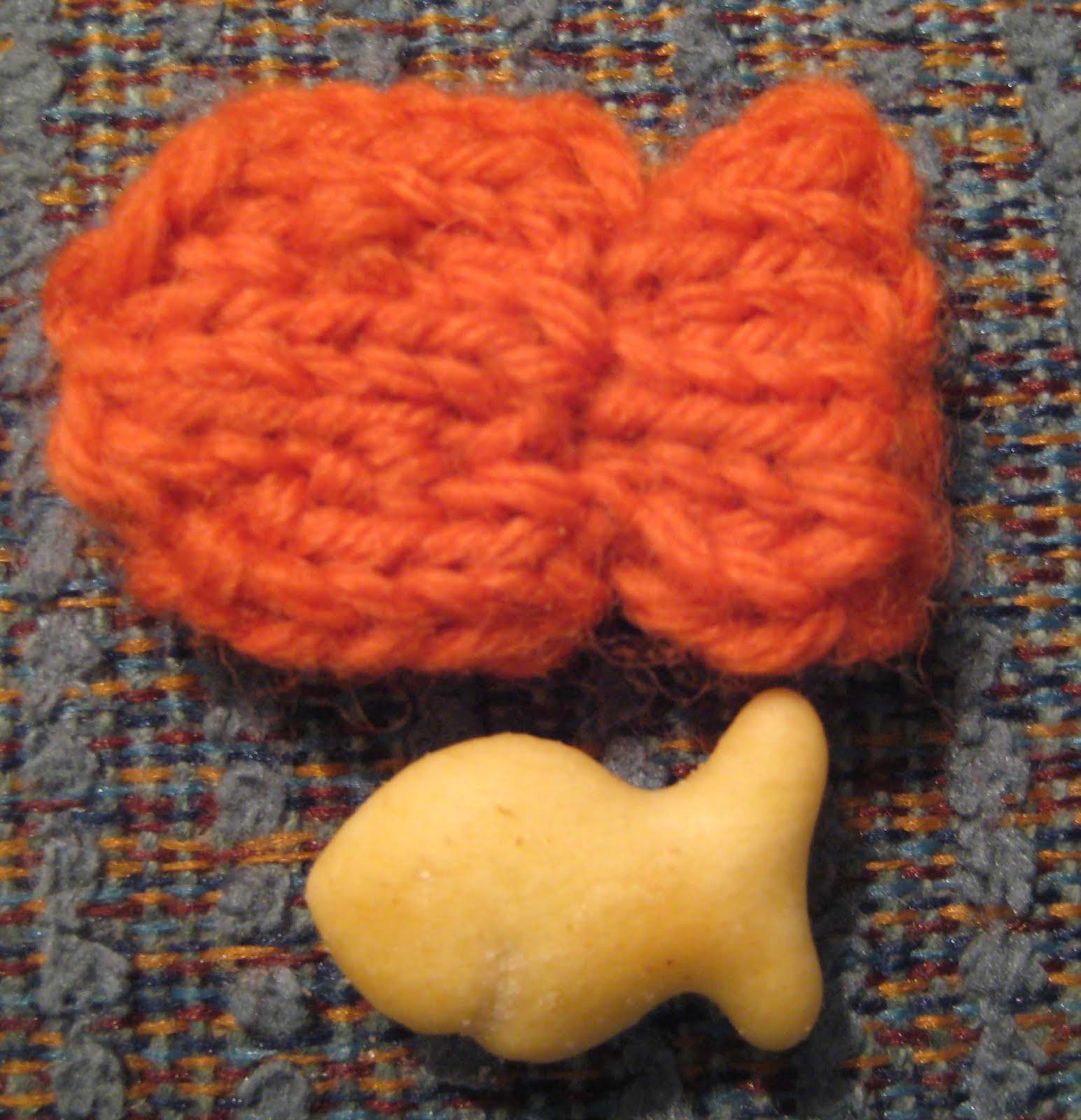 ChemKnits: Goldfish Knitting Pattern