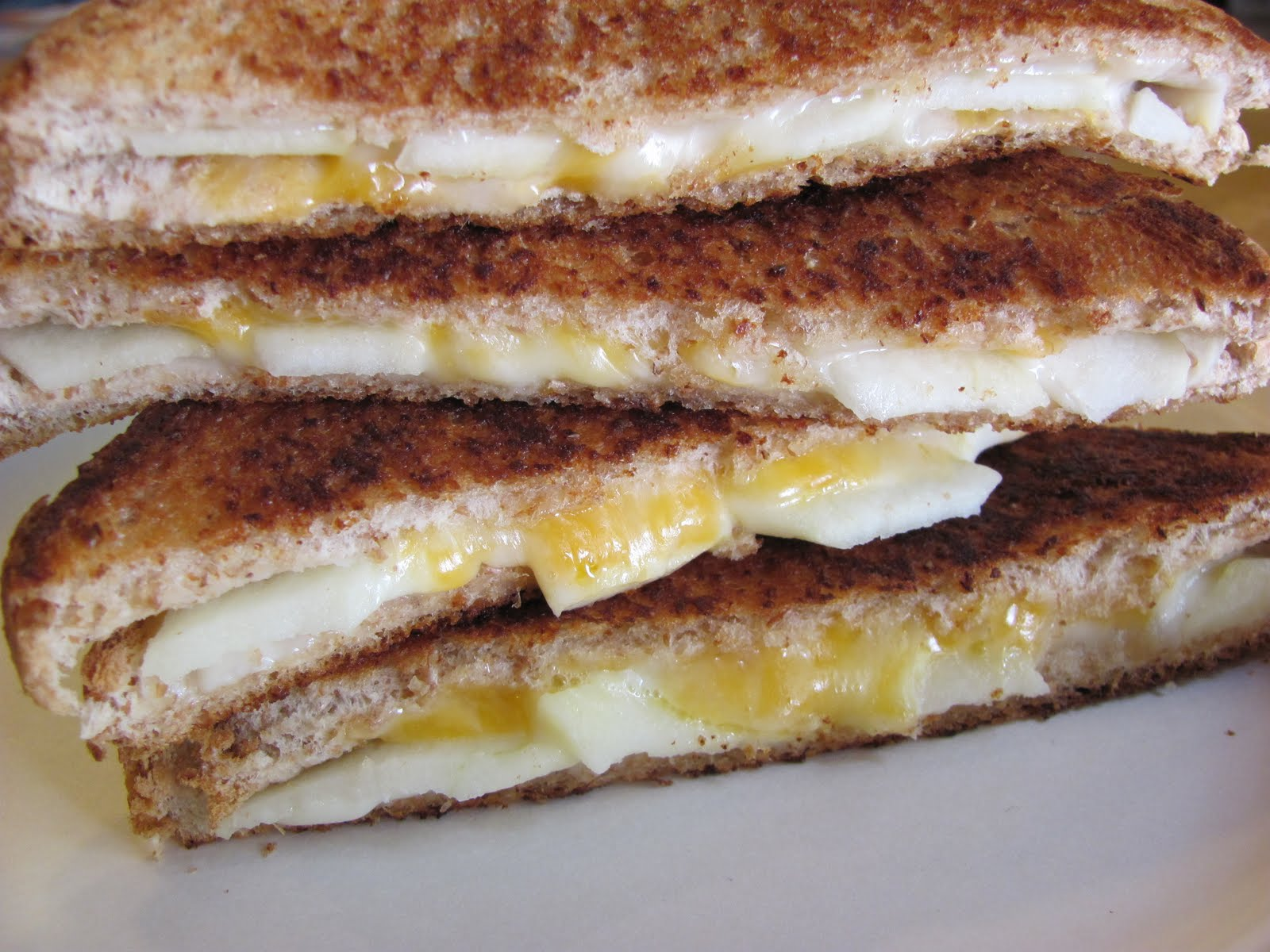 Recipes for You: Grilled Cheddar Apple Sandwiches or Quesadillas
