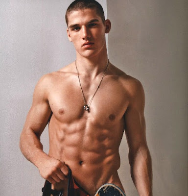 "Kerry+Degman+on+cover+of+French+gay+magazine+TETU+May+08+issue+photo ... says: ""The Teen Vogue Handbook is a dream book, a truly creative book ..."