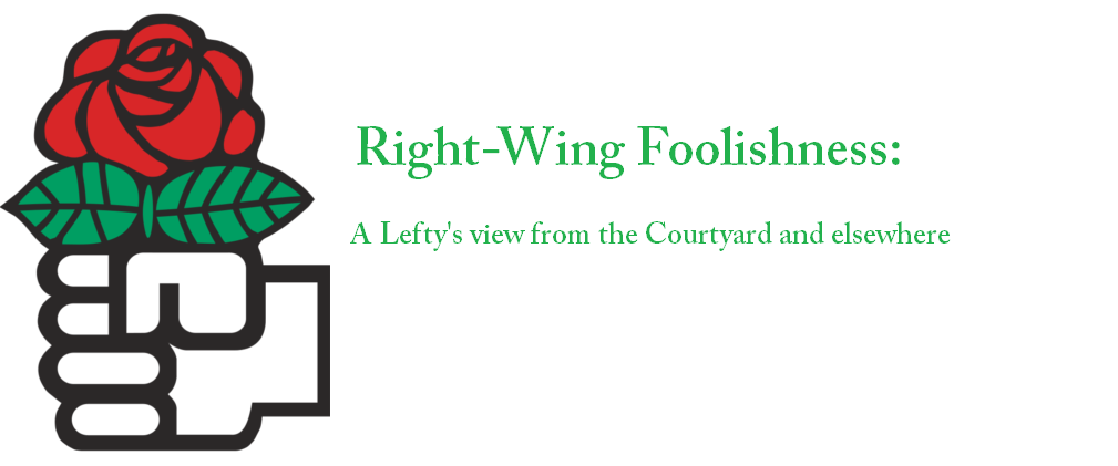 Right Wing Foolishness
