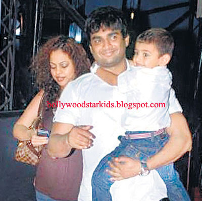 Kids Of Bollywood Stars: Madhavan With His Son Vedaant Shot For a