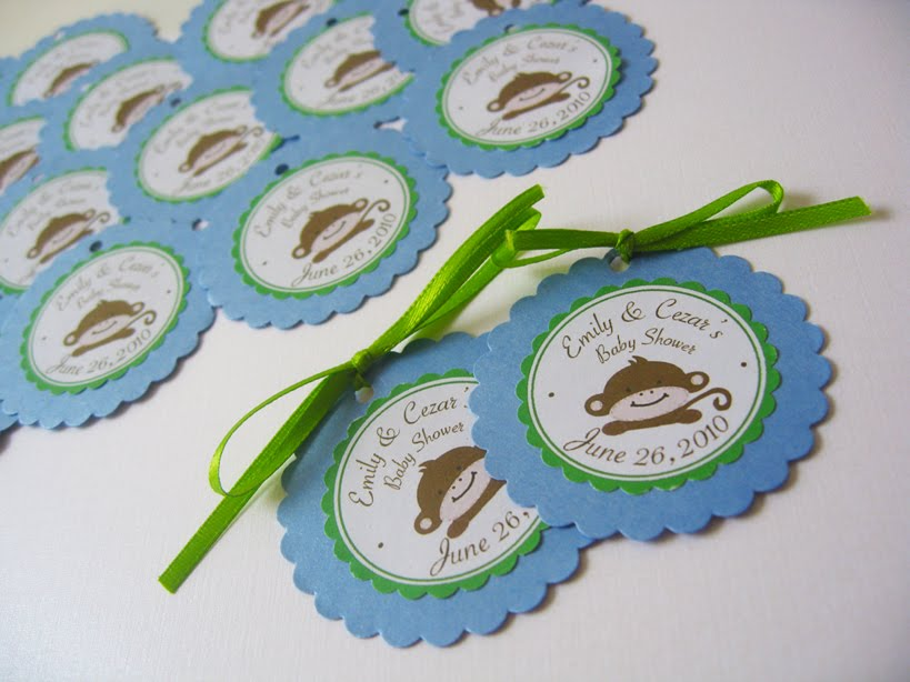 Monkey Theme Baby Shower - Customize your Party and make it