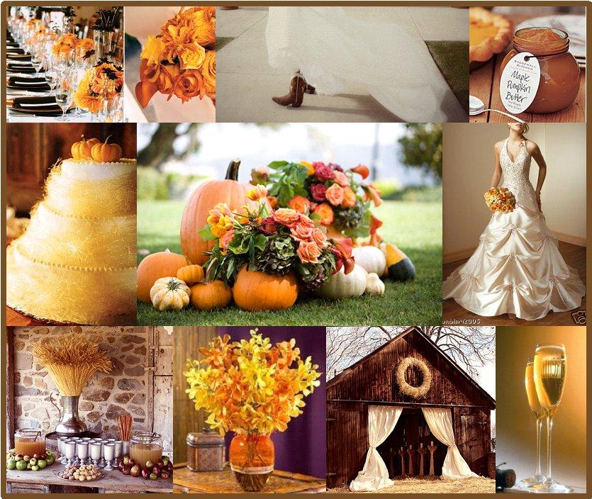 November Wedding Ideas: Wedding Wednesdays: Fall Is In The Air
