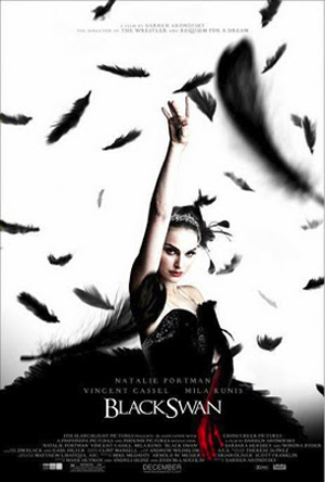 Black Swan (2010) WS R1 CUTOM DVD Front cover. Black Swan DVD Screener