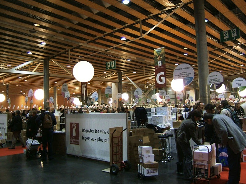The enchanted traveller salon des vins grand palais - Salon des vignerons independants lille ...