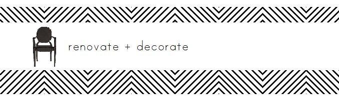 renovate + decorate